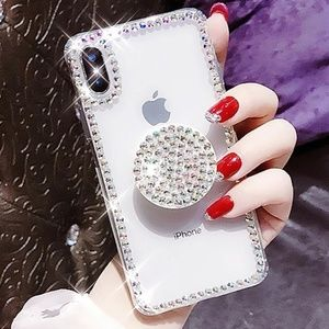 Bling Diva iPhone Case for iPhone XS, X & 8 Plus